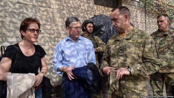 Волкер: США підтримує суверенітет і територіальну цілісність України