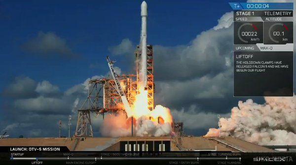 SpaceX вперше вивела наорбіту літак ВПС США