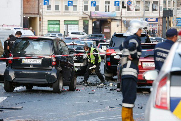 Вибух авто у центрі Києва: постраждала жінка виявилася відомою моделлю – ЗМІ