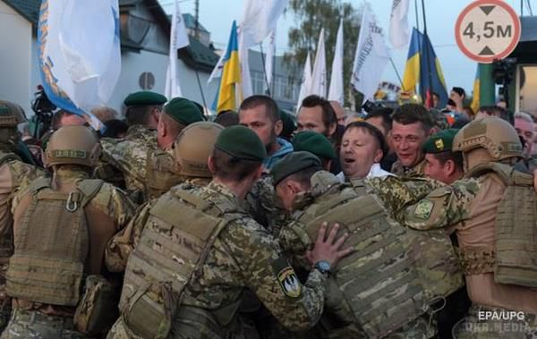 Повернення Саакашвілі вУкраїну: онлайн-трансляція подій