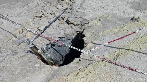 В Італії загинула сім'я, упавши вкратер вулкана