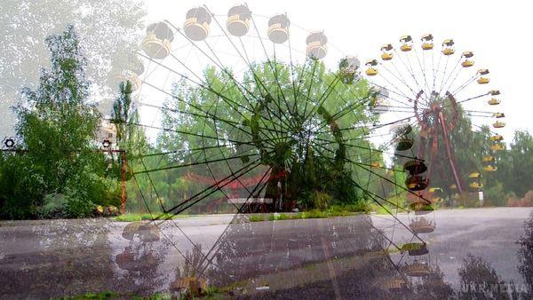 УПрип'яті туристи запустили колесо огляду