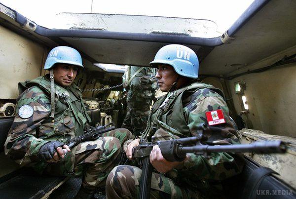 США наголосили необхідність розміщення миротворців повсій окупованій території Донбасу