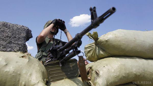 Бойовики задень 14 разів порушили перемир'я,— штаб