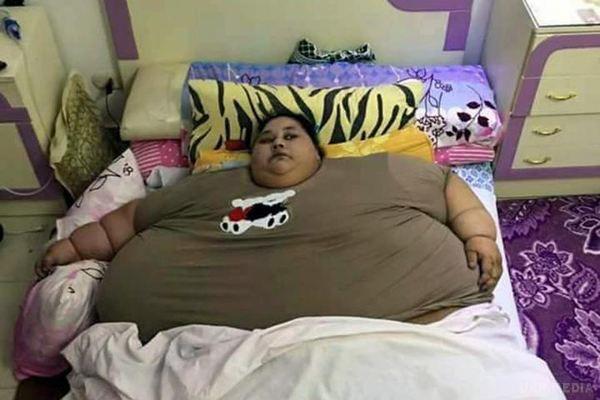 ВОАЕ померла 300-кілограмова єгиптянка: фото колись найтовщої жінки всвіті
