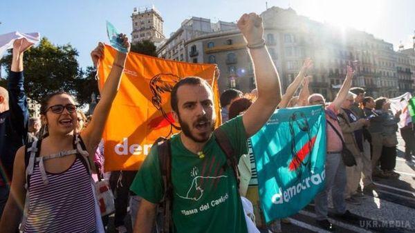 Референдум уКаталонії: ЗМІ повідомили про перші сутички уБарселоні