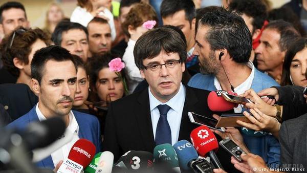 В Іспанії заарештували двох лідерів каталонських сепаратистів