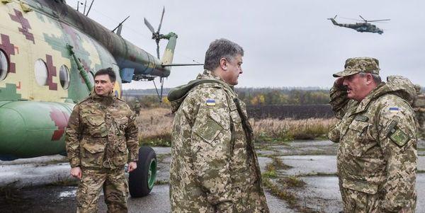 Порошенко анонсував ротацію військових наДонбасі