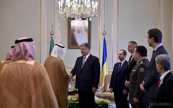 Порошенко прибув здводенним візитом уСаудівську Аравію
