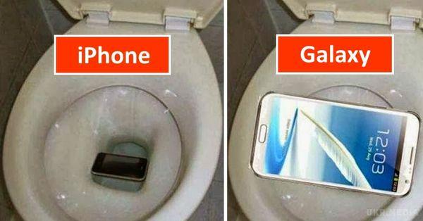 Samsung пожартував над Apple уновій рекламі