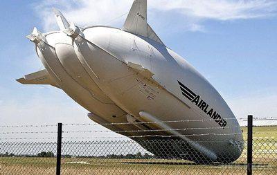 Найбільше усвіті повітряне судно розбилося уВеликій Британії (ВІДЕО)