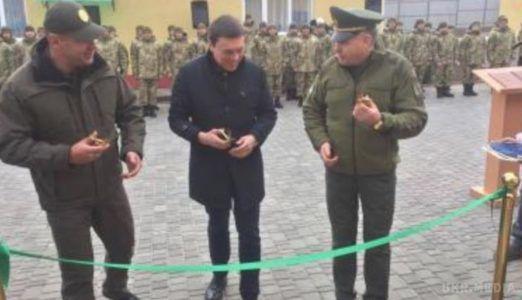 ВОдеській області накордоні зМолдовою відкрився новий відділ прикордонної служби
