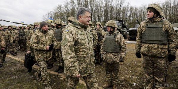 ЗСУ готові добудь-якого розвитку подій вЛуганську— Порошенко