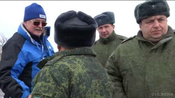 Зі спостерігачем ОБСЄ, який віддав військове вітання бойовику, ведеться виховна робота