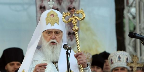 Патріарх Філарет сьогодні розповість про діалог зРПЦ