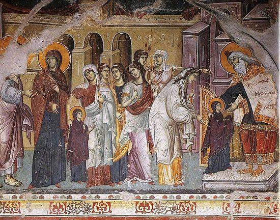 Сьогодні - Введення ухрам Пресвятої Діви Марії (Третя Пречиста)