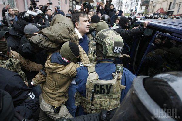Під час розшуку М.Саакашвілі активісти провокували поліцію