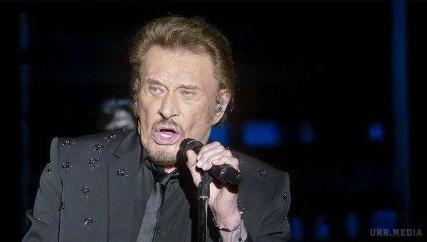 Помер французький рок-співак Джонні Холлідей