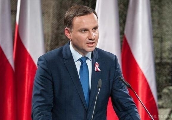 Візит президента Польщі вУкраїну відбудеться 13 грудня