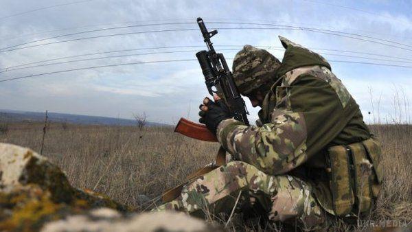 Бойовики 8 разів обстріляли позиції сил АТО— штаб