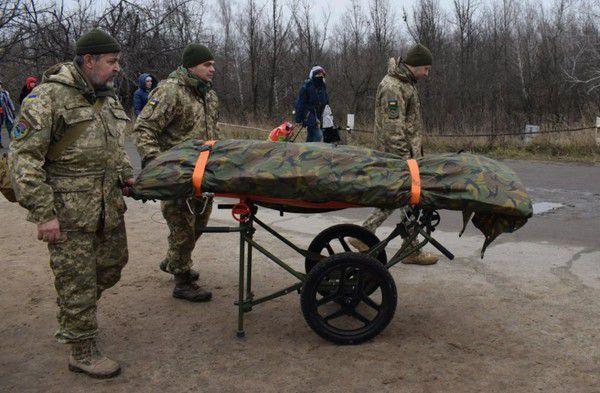 На окуповану територію передали тіла ліквідованих на Донбасі росіян та найманців