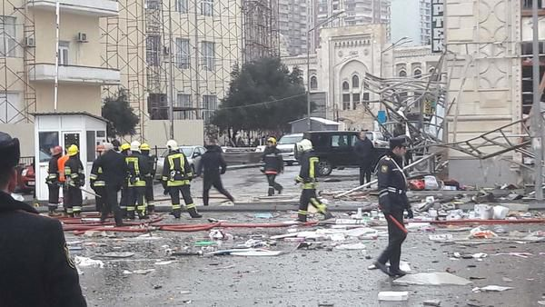 Устолиці Азербайджану стався вибух газу