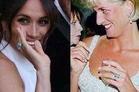 Меган Маркл після вінчання наділа обручку принцеси Діани: опубліковано фото