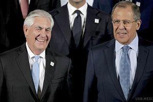 Щось пішло не так! Перша зустріч Тіллерсона і Лаврова. Перша зустріч нового держсекретаря США Рекса Тіллерсона з главою МЗС Росії Сергієм Лавровим.
