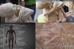 У Мережі обговорюють відео про знайдену мумію інопланетянина (ВІДЕО). Сенсаційна знахідка була зроблена під час розкопок в печерах Перу, а відео опубліковано на одному з сайтів, присвячених конспірології.