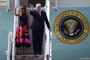 Президент США Дональд Трамп прибув в Гамбург на саміт. Президент США Дональд Трамп прибув у Гамбург для переговорів з канцлером Німеччини Ангелою Меркель перед самітом групи (G20).