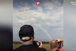 У Росії розбився літак: з&#039явилося моторошне відео з місця НП (відео). В результаті події є жертви.