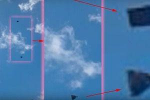 У Мережі з&#039явилося відео таємного спілкування екіпажу корабля ВПС США з прибульцями (відео). На ньому видно, як відбувався взаємний контакт двох апаратів над військовою базою ВПС Макдилла, де розміщується все командування спеціальними операціями.